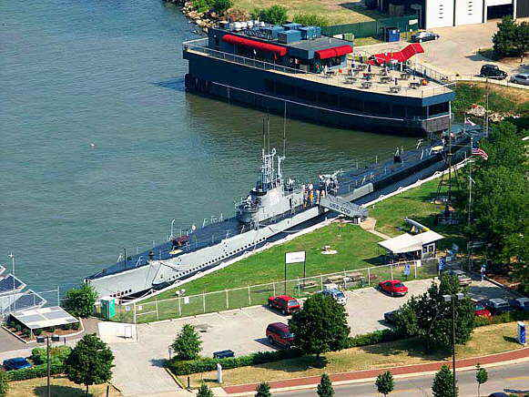 USS Cod SS224 in Cleveland OH - Click photo for larger view
