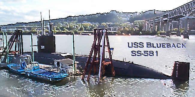 USSVI Tour of USS Blueback SS-581: SubmarineSailor.com