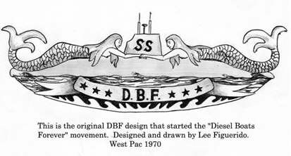 History of the DBF Pin - SubmarineSailor com